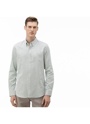Lacoste Erkek Slim Fit Gömlek CH0017.17Y Mavi
